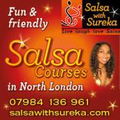 SALSA SUNDAYS IN NORTH LONDON