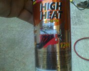 Bargman lights 010high heat exhaust ceramic enamel for painting cans