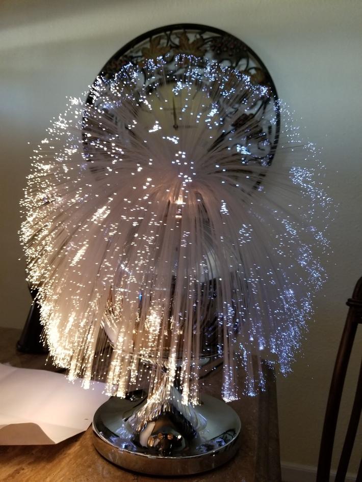 Fantasia Sunburst Fiber Optic Lamp