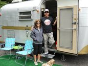 J & D at Glamping Event 2012
