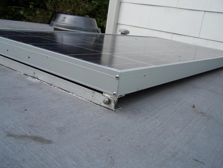 panel on long bracket