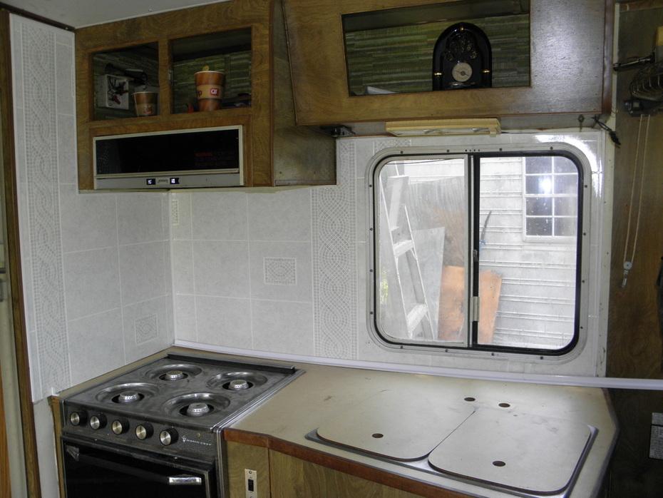 Pace Arrow kitchen
