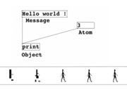 Hello world ! Tools for media integration in performance: an introduction to Pure-Data