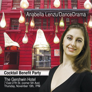 Cocktail Party to benefit Anabella Lenzu/DanceDrama