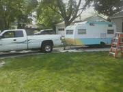 trk and trailer hooked up ready to go