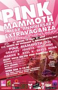 Pink Mammoth 7 Year Anniversary