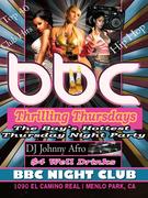 Club Nights BBC Thursdays (menlo park)