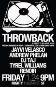 Throwback 90's House Nite - FREE B4 12am w/ RSVP