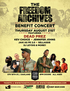 Freedom Archives Benefit feat. dead prez, Kev Choice, Jen Johns, Jahi, Sellassie & DJ Leydis