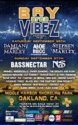 Bay Area Vibez ft. Damian Marley, Aloe Blacc, Stephen Marley, Nas, Bassnectar and many more...