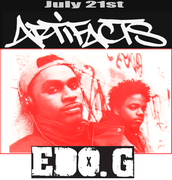 Artifacts and Edo.G in Oakland