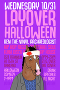Layover Halloween with Ren the Vinyl Archaeologist
