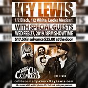 Key Lewis; Half Black, Half White, Looks Mexican!