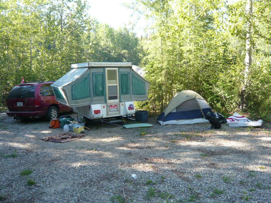 1974 bellevue c-4 tent trailer