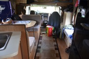 inside and out of my camper