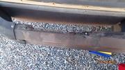 Rear Bumper Rust