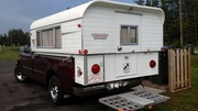 1997 With 1967 Canadian Vanguard 10 ft Camper