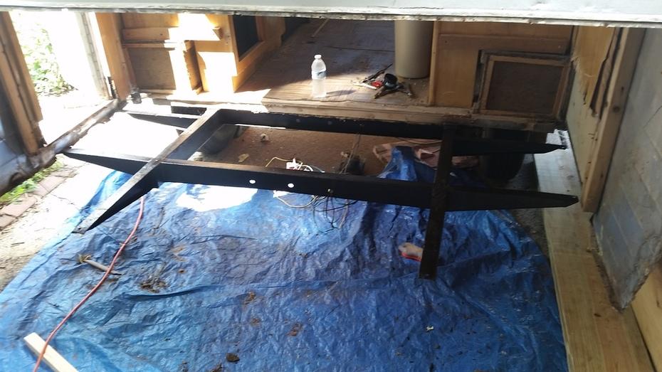 Making Progress- New Floor