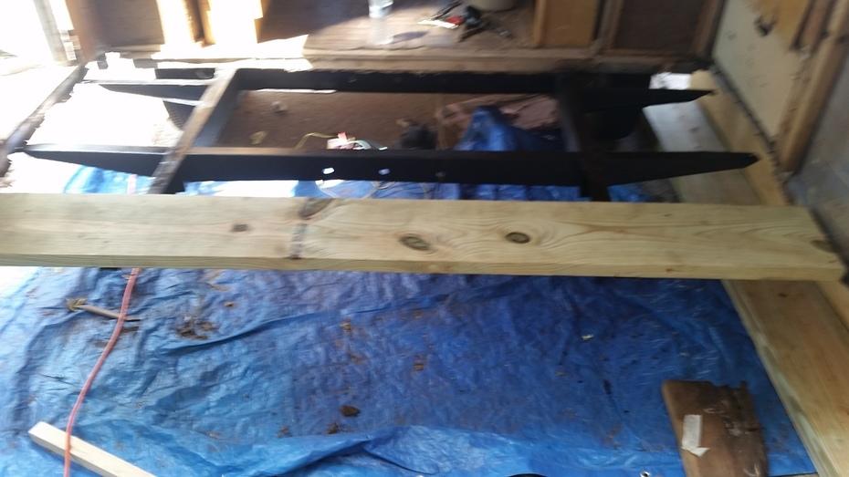 Making Progress - New Floor
