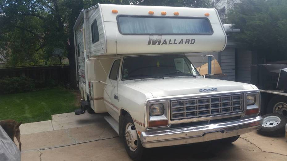 1984 Mallard on a Dodge Ram Chassis