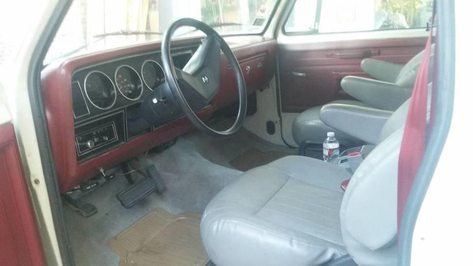 Cab of 84 Mallard on Dodge Ram Chassis
