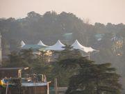 Main Temple Venue for His Holiness, the 14th Dalai Lama in McLeod Ganj, Dharamshala, India