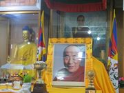 Homage to His Holiness in Temples