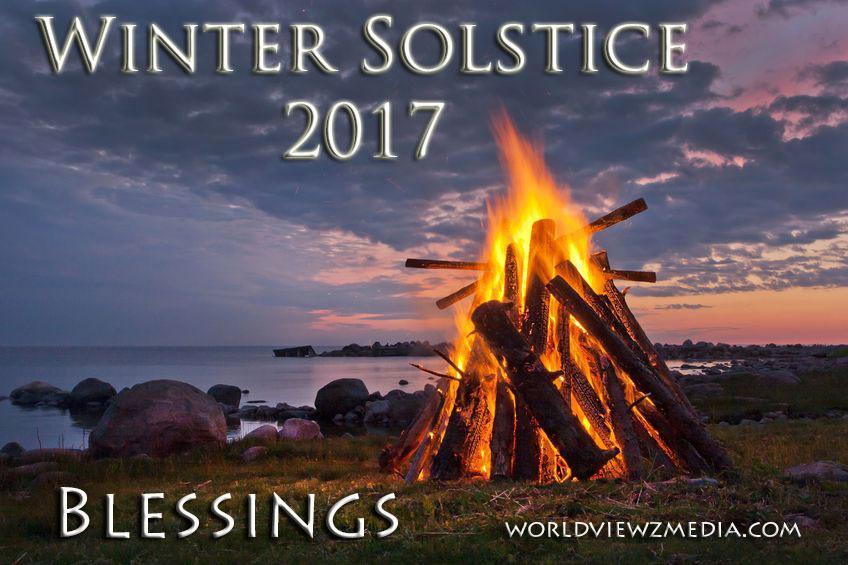 Winter Solstice 2017 Blessings