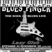 BLUES FINGER LIVE AT LAZY CLUB