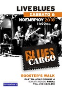 Blues cargo Live at Rooster's Walk Free Entrance