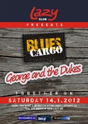 Blues Cargo + George and the Dukes Live at Lazy Rock & Blues Club Σάββατο 14 Ιανουαρίου