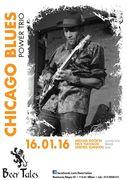 Michael Dotson Chicago Blues Power Trio