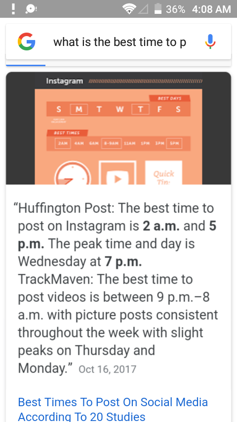 What Is the BEST TIME to post on Instagram.