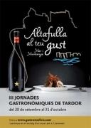 "III Jornadas Gastronómicas ""Altafulla a tu gusto"","