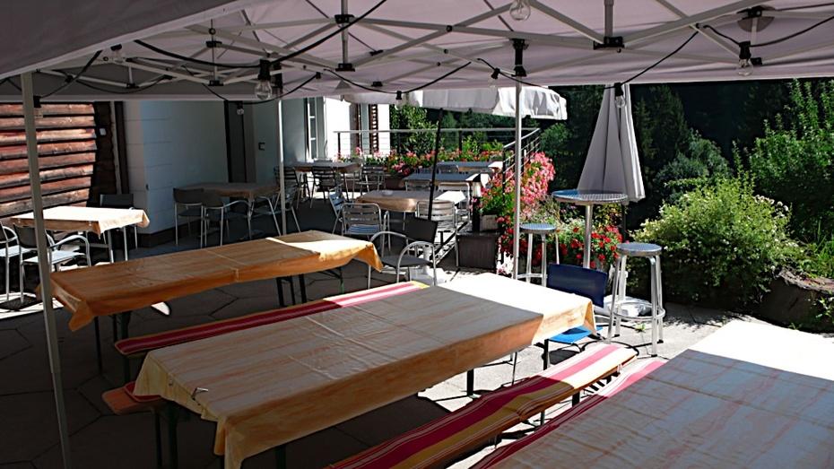 Outdoor Plenary room