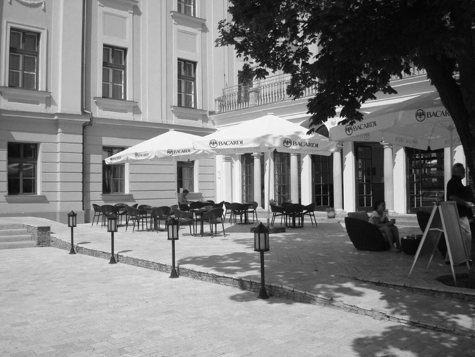 the welcoming Terrasse