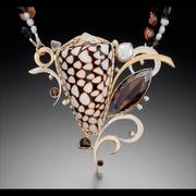 marble cone necklace