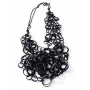 Shades of Black Round Link Necklace 01, 2009. Liana Pattihis