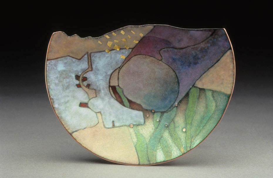 Cut Dish -Stone