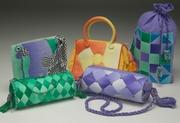 machine stitched purses