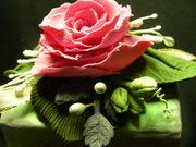 Hand Sculpted Flowers