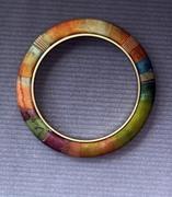 watercolor bangle