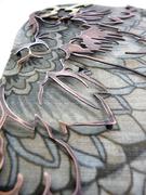 Detail: Granny's Wallpaper Brooch