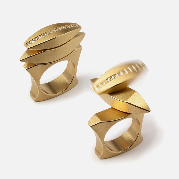 kinetic ring RK015-3BR
