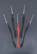 black and red lock picks