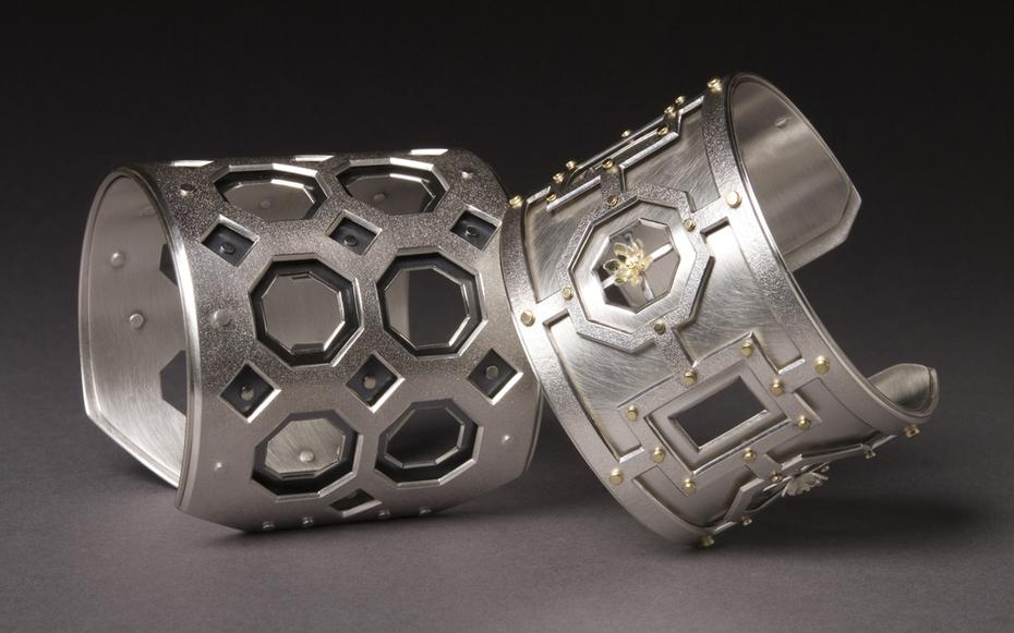 Coffer Series cuffs