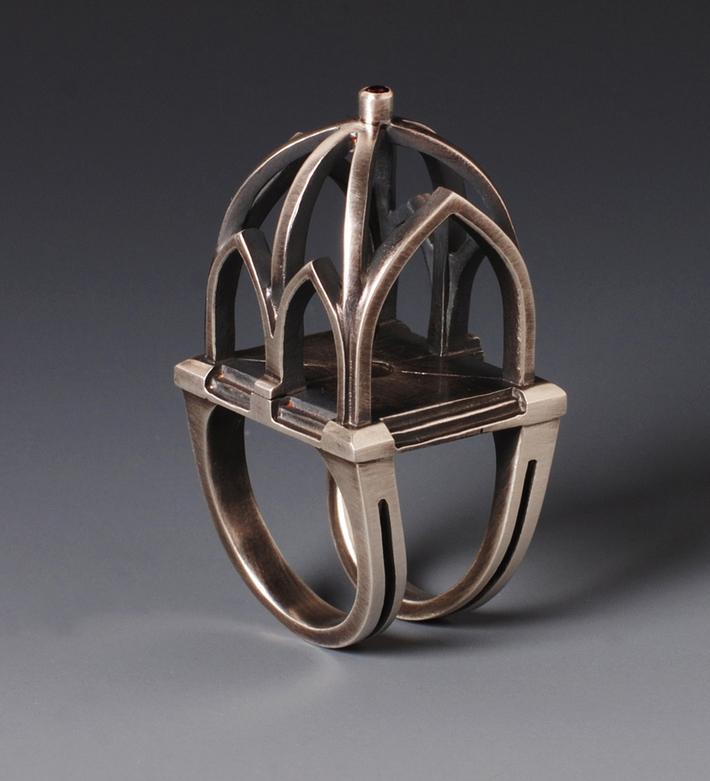 Gothic Rib Vault ring
