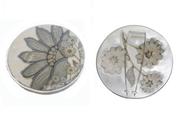 Floral Wallpaper Brooch