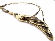 neckpiece with black spinel