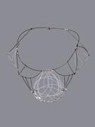 Parabola Necklace (AKA the Modern Cameo)